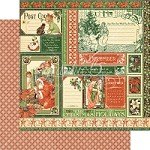 "*PRE-ORDER* Graphic 45 - Children's Hour Collection - 12""x12"" cardstock - December Collective"