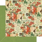 "*PRE-ORDER* Graphic 45 - Children's Hour Collection - 12""x12"" cardstock - December Montage"
