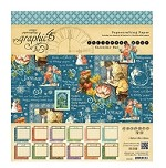 *PRE-ORDER* Graphic 45 - Children's Hour Collection - 8x8 Calendar Pad