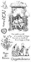 *PRE-ORDER* Graphic 45 - Children's Hour Collection - Cling Stamps 1