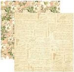 "*PRE-ORDER* Graphic 45 - Gilded Lily Collection - 12""x12"" cardstock - Creme de la Creme"