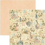 "*PRE-ORDER* Graphic 45 - Gilded Lily Collection - 12""x12"" cardstock - Her Majesty"