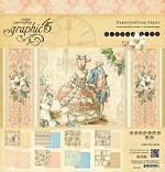*PRE-ORDER* Graphic 45 - Gilded Lily Collection - 12x12 Paper Pad