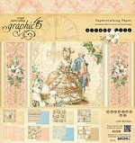 *PRE-ORDER* Graphic 45 - Gilded Lily Collection - 8x8 Paper Pad