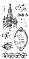 *PRE-ORDER* Graphic 45 - Gilded Lily Collection - Cling Stamps 2