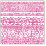 "Hambly Studio 12""x12"" overlays - Old Lace - Pink"