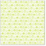 "Hambly Studio 12""x12"" overlays - Sweet Cupcakes - Lime Green"