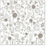 "Hambly Studio 12""x12"" overlays - Embroidery - Brown"
