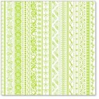 "Hambly Studio 12""x12"" overlays - On Edge Lime Overlay"