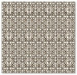 "Hambly Studio 12""x12"" overlays - Grandma's Wallpaper Brown"