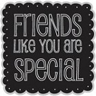 Hampton Art-Cling Stamp Set-I Cling Special Friends
