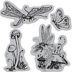 Hampton Art-Cling Stamp Set-Once Upon a Springtime #3