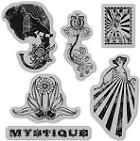 Hampton Art-Cling Stamp Set-Le Cirque #2