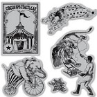 Hampton Art-Cling Stamp Set-Le Cirque #3