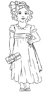Hampton Art - Melissa Frances - Cling Mounted Rubber Stamp - Just a Little Something