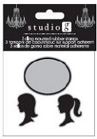 Hampton Arts - Cling Stamp Set - Silhouette
