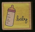 Hampton Art - Studio G - Wood Mounted Stamp - Baby