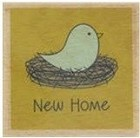 Hampton Art - Studio G - Wood Mounted Stamp - New Home