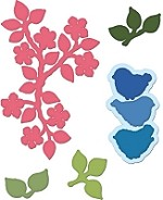 Heartfelt Creations - Cutting Die - Birds and Blooms Collection - Birds and Blooms