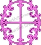 Heartfelt Creations-Cutting Die-Decorative Oval Window