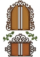 Heartfelt Creations-Cutting Die- Decorative Chateau Gate