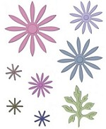 Heartfelt Creations - Cutting Die - Delicate Asters