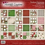 "Heartfelt Creations - 12""x12"" Paper Pad - Festive Christmas Paper Collection"