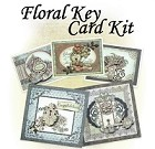 Heartfelt Creations - Floral Key Collection - Card Kit (Class instructions - stamps not included)