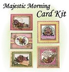 Heartfelt Creations - Majestic Morning Collection - Card Kit (Class instructions - stamps not included)