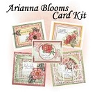 Heartfelt Creations - Arianna Blooms Collection -  Card Kit (Class Instructions - Stamps Not Included)