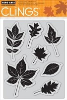 Hero Arts - Cling Stamp - Scattering Leaves