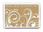 Hero Arts - Shadow Ink - Dye Pad - Gold
