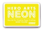 Hero Arts - Neon Ink Pad - Yellow