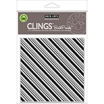 Hero Arts - Cling Rubber Stamp - Candy Stripe Bold Prints