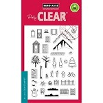 Hero Arts - Clear Stamp - 3-D House Essentials