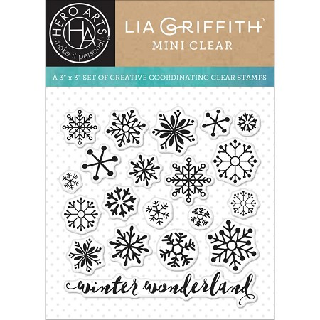 Hero Arts - Clear Stamp - Snowflakes by Lia