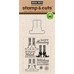 Hero Arts - Stamp & Cut - Witch Feet