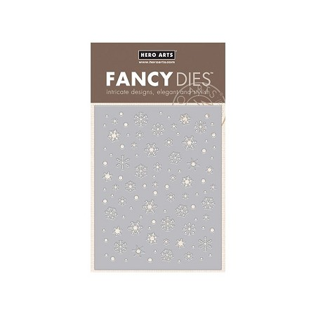 Hero Arts - Fancy Die - Snowflake Confetti