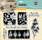 Hero Arts - Cling Rubber Stamp Set - Cherish Yesterday