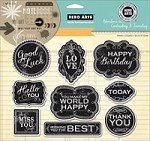 Hero Arts - Cling Rubber Stamp Set - Good Luck