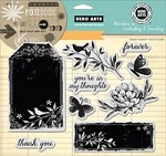 Hero Arts - Cling Rubber Stamp Set - Forever