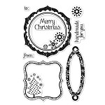 Hero Arts Clear Stamp Set for Basic Gray-Nordic Holiday-Nordic Holiday