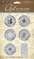 Hero Arts Cling Stamp Set - Untitled Postmarks