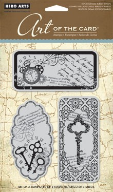 Hero Arts Cling Stamp Set - Untitled Key