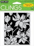 Hero Arts Cling Stamp - Large Blossom