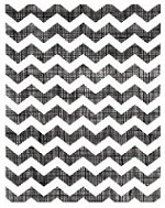 Hero Arts - Studio Calico - Rubber Cling Stamp - Take Note - Chevron
