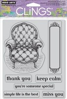 Hero Arts Cling Stamp - Keep Calm
