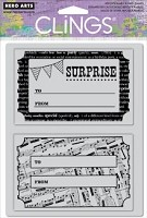 Hero Arts Cling Stamp Set - Surprise
