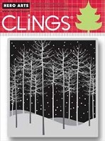 Hero Arts - Cling Stamp - Winter Trees