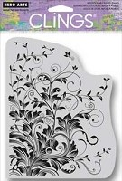 Hero Arts - Cling Rubber Stamp - Leafy Vines
